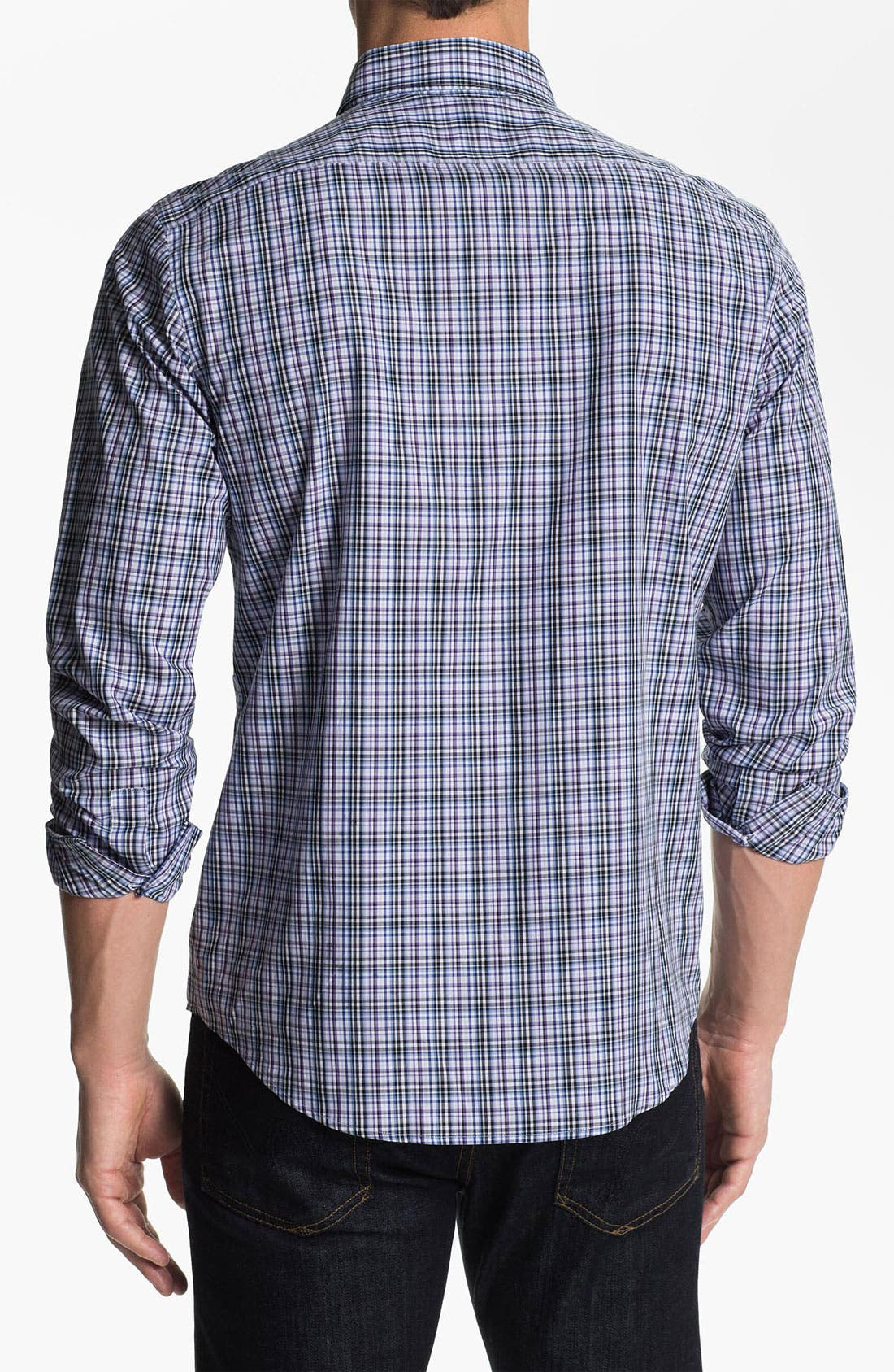 Alternate Image 2  - Michael Kors 'Morgan Check' Sport Shirt