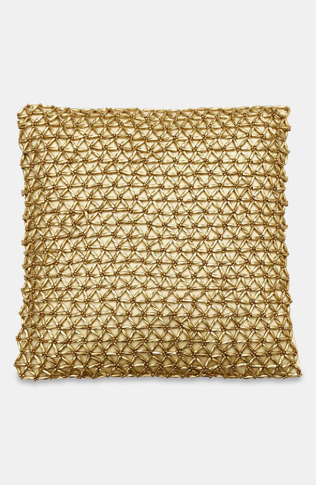 Main Image - Donna Karan 'Glimmer Star' Silk Pillow (Online Only)