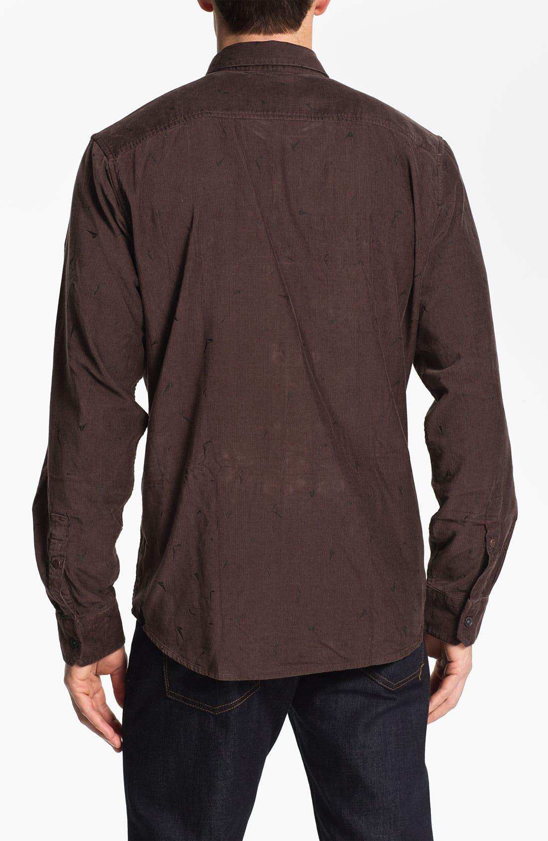 Alternate Image 2  - Volcom 'Stacked' Corduroy Shirt