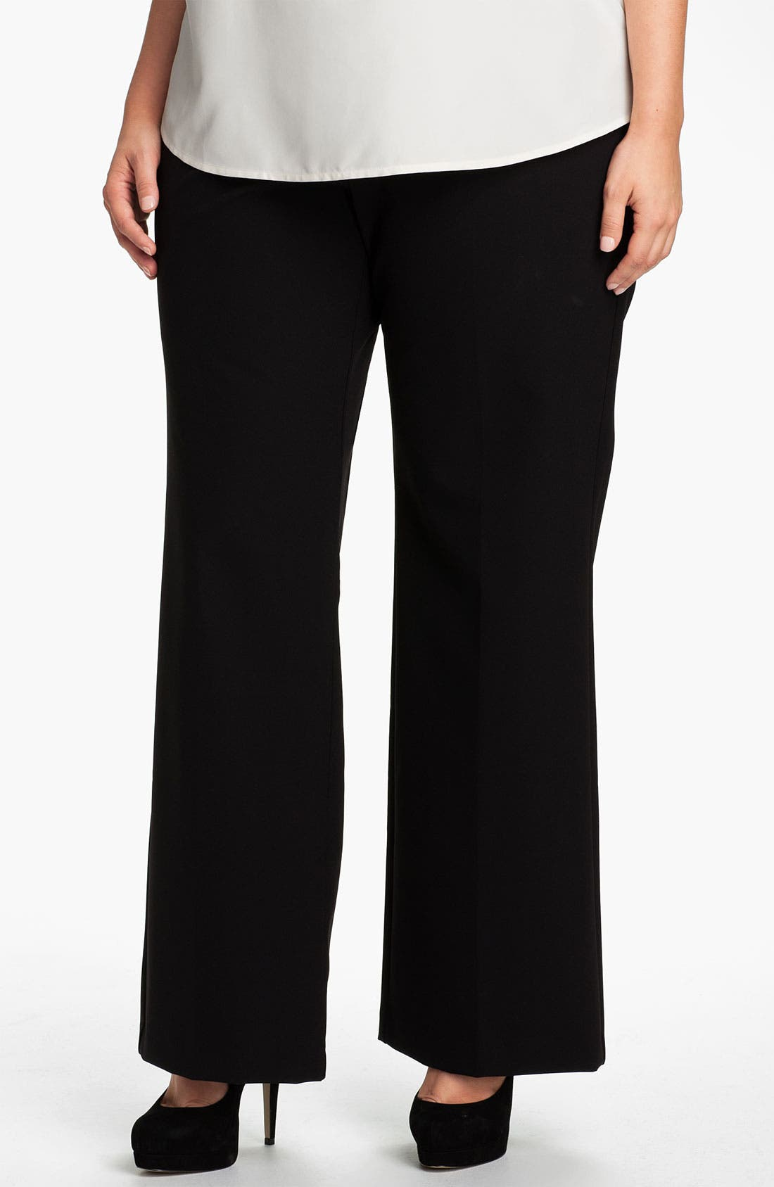 Alternate Image 1 Selected - Kenneth Cole New York Trousers (Plus)
