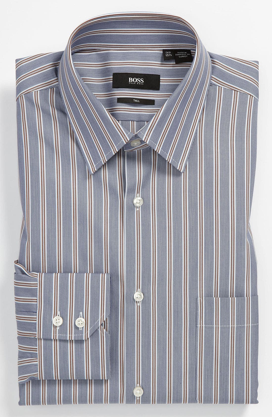 Main Image - BOSS Black Regular Fit Non-Iron Dress Shirt (Big & Tall) (Online Exclusive)