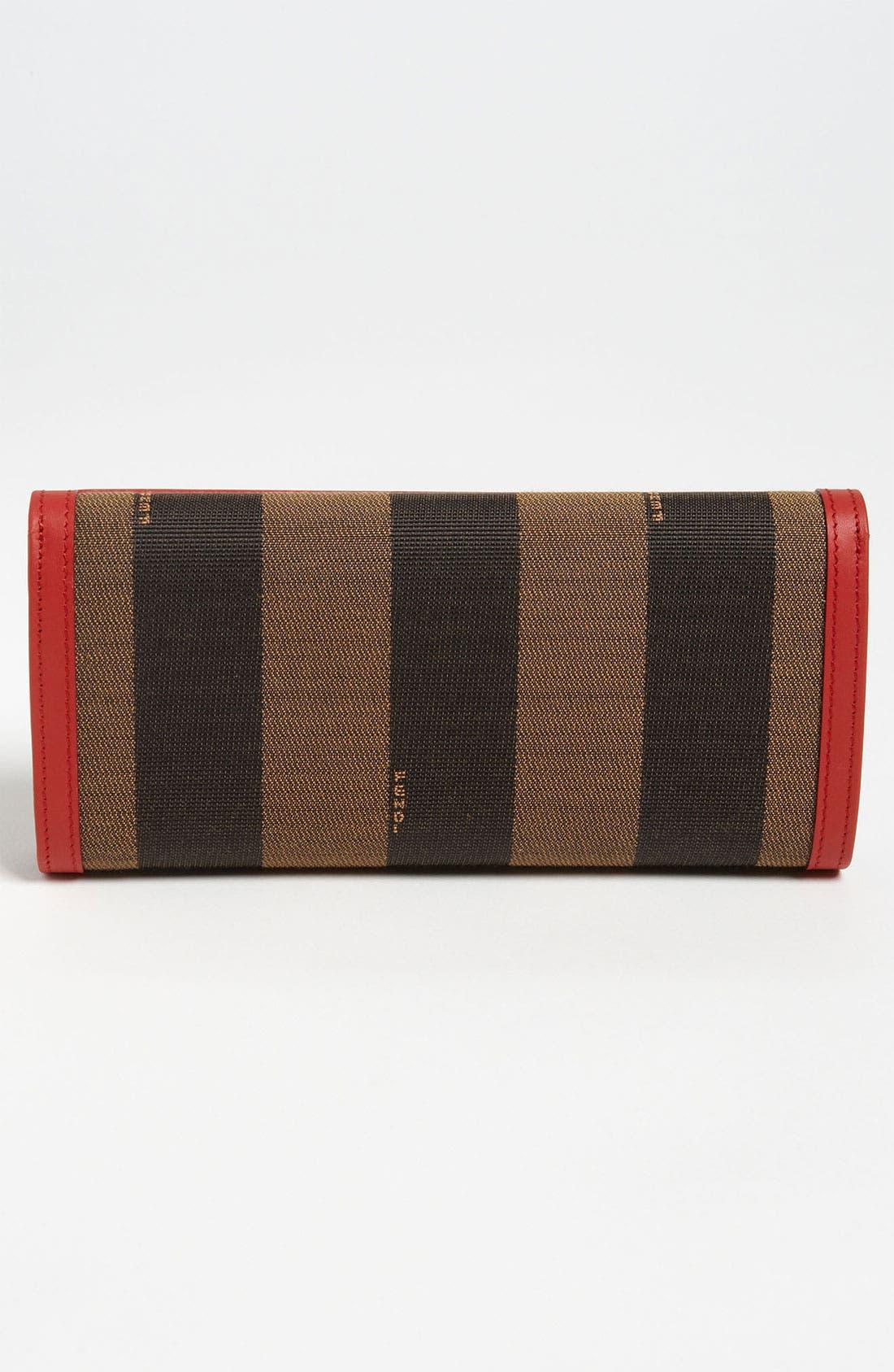 Alternate Image 4  - Fendi 'Pequin' Continental Wallet