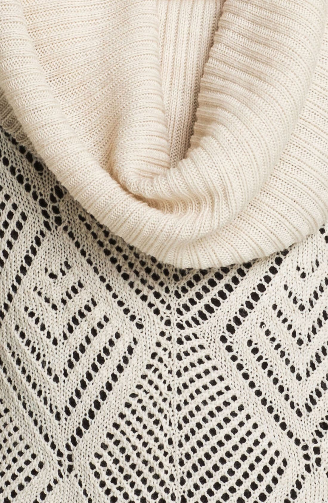Alternate Image 3  - Lucky Brand 'Paula' Cowl Neck Sweater