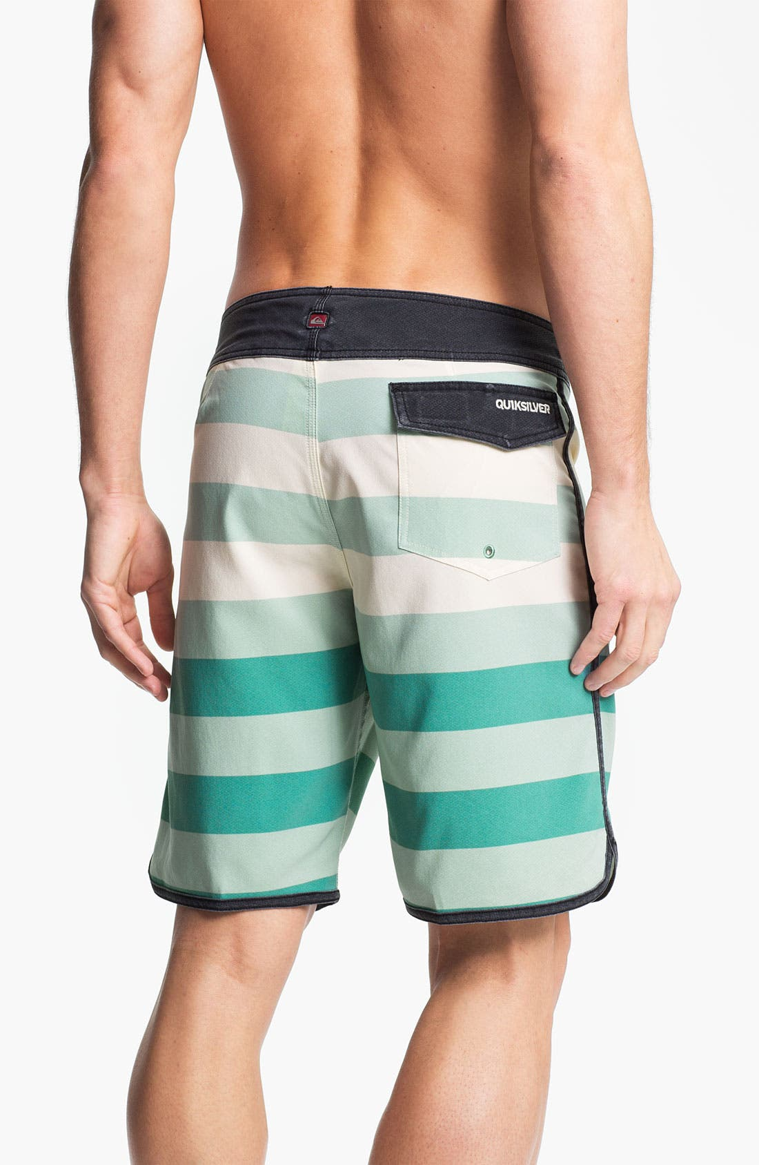 Alternate Image 2  - Quiksilver 'Cypher Brigg' Scalloped Board Shorts