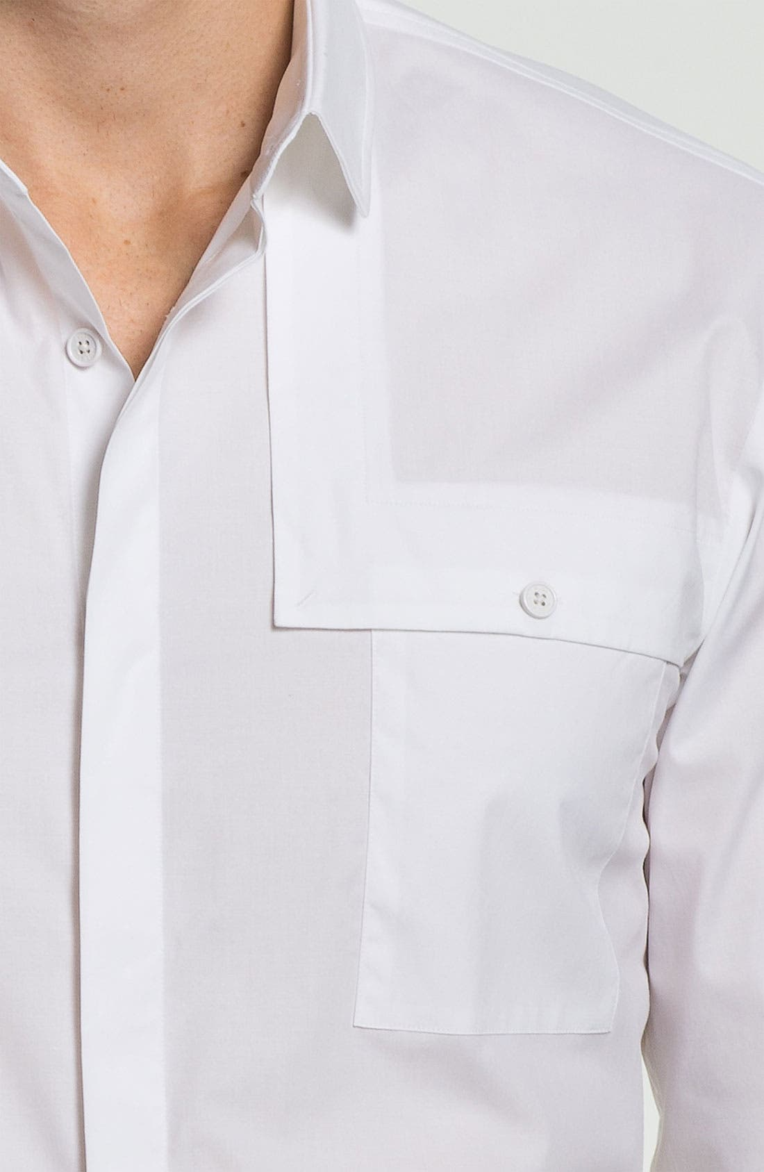 Alternate Image 3  - HUGO 'Eleo' Slim Fit Sport Shirt