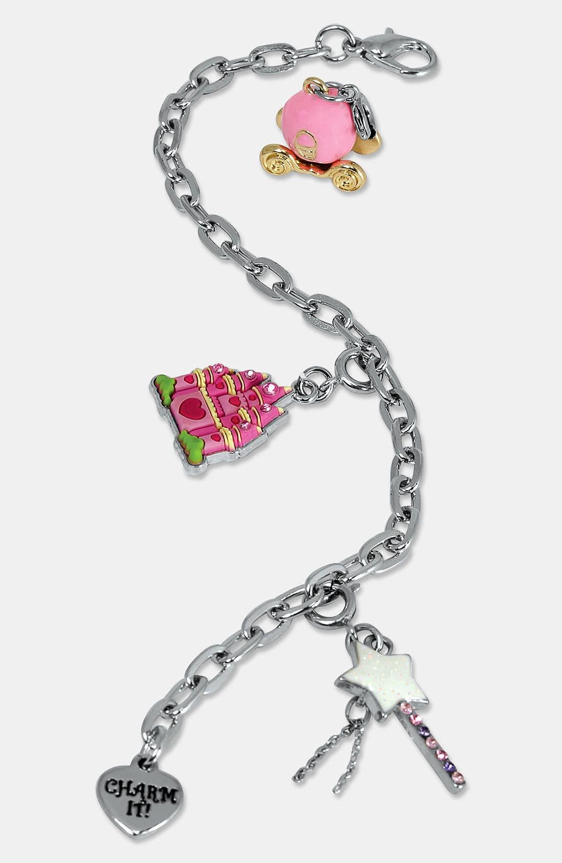Alternate Image 1 Selected - CHARM IT!® 'Fairy Princess' Charm Bracelet (Girls)