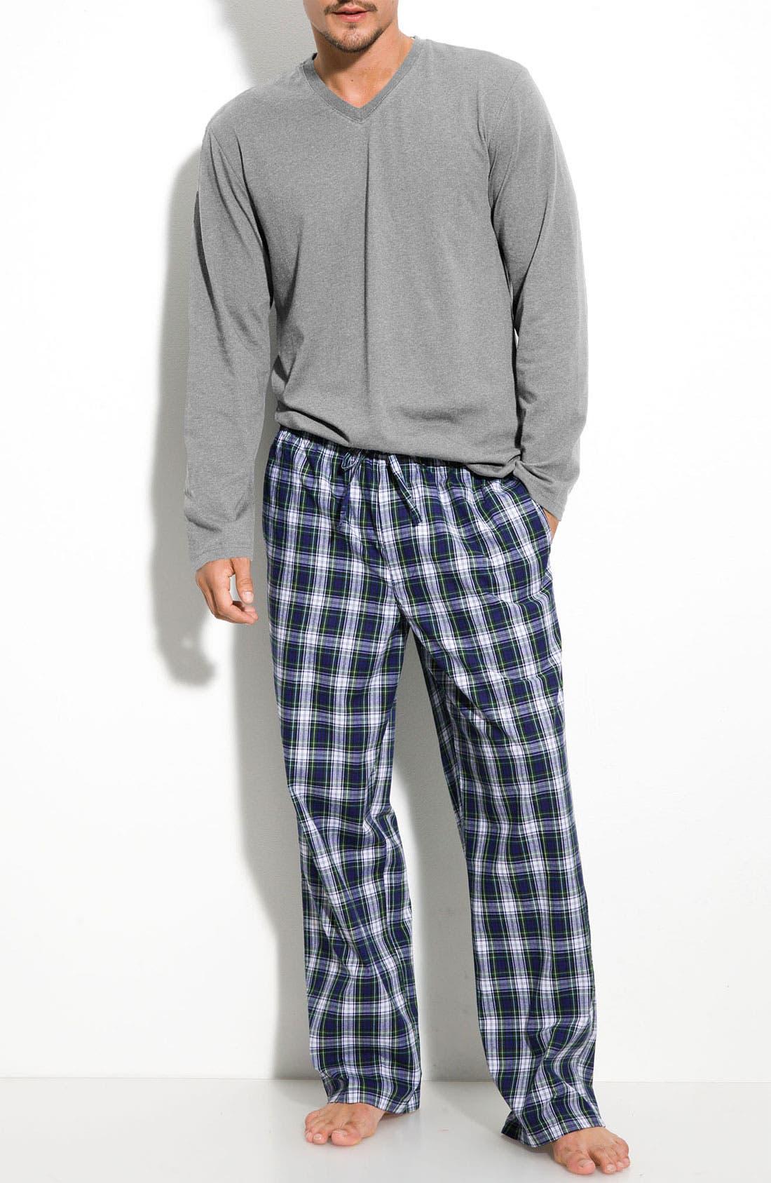 Alternate Image 1 Selected - Nordstrom Men's Shop Pajama Set