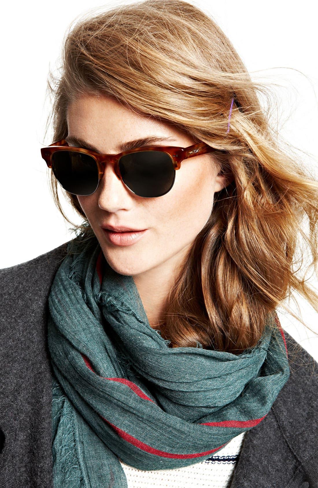 Alternate Image 2  - TOMS 'Modern' Retro 50mm Sunglasses