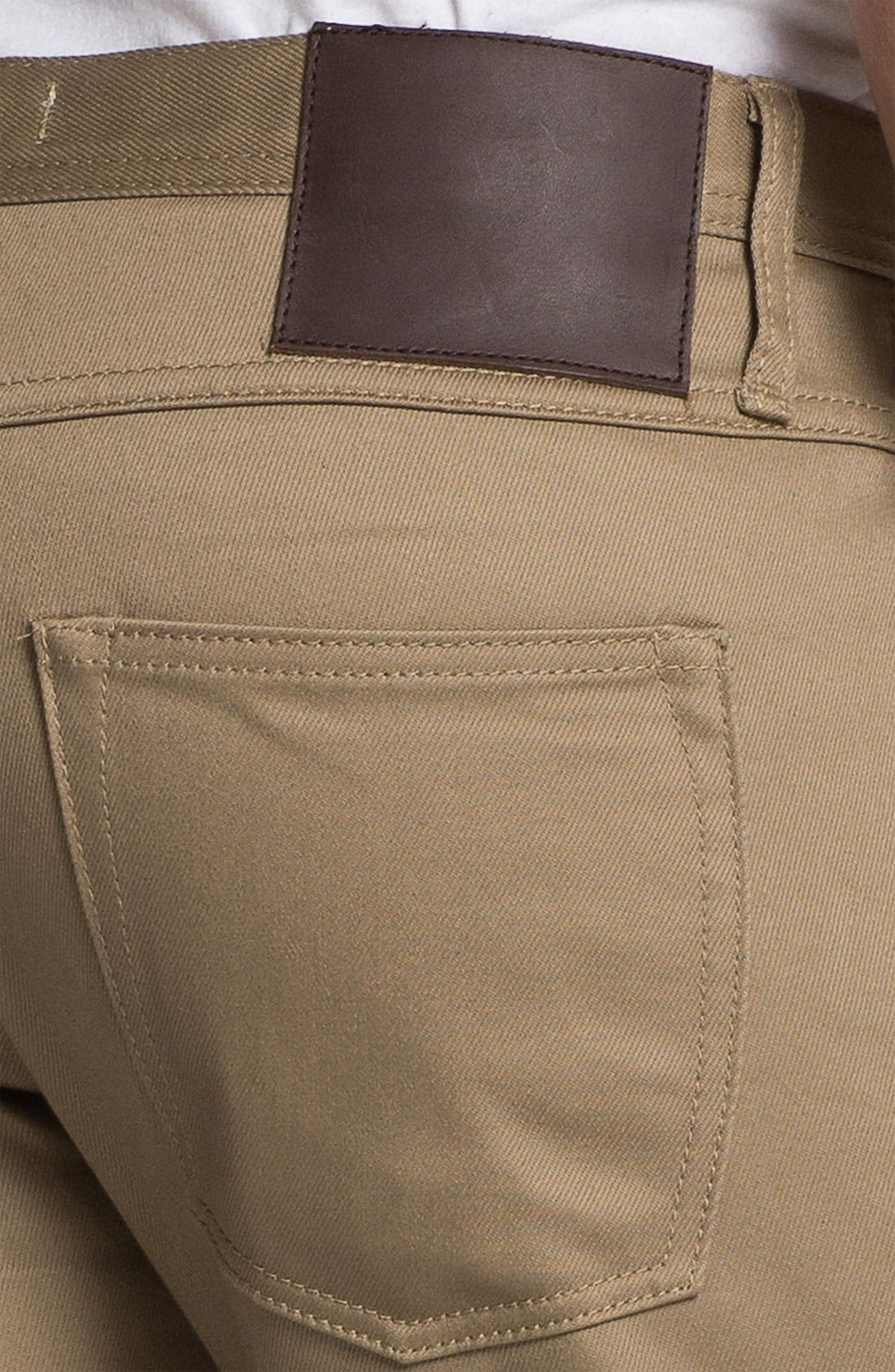 Alternate Image 3  - The Unbranded Brand 'UB307' Straight Leg Selvedge Chinos (Online Exclusive)