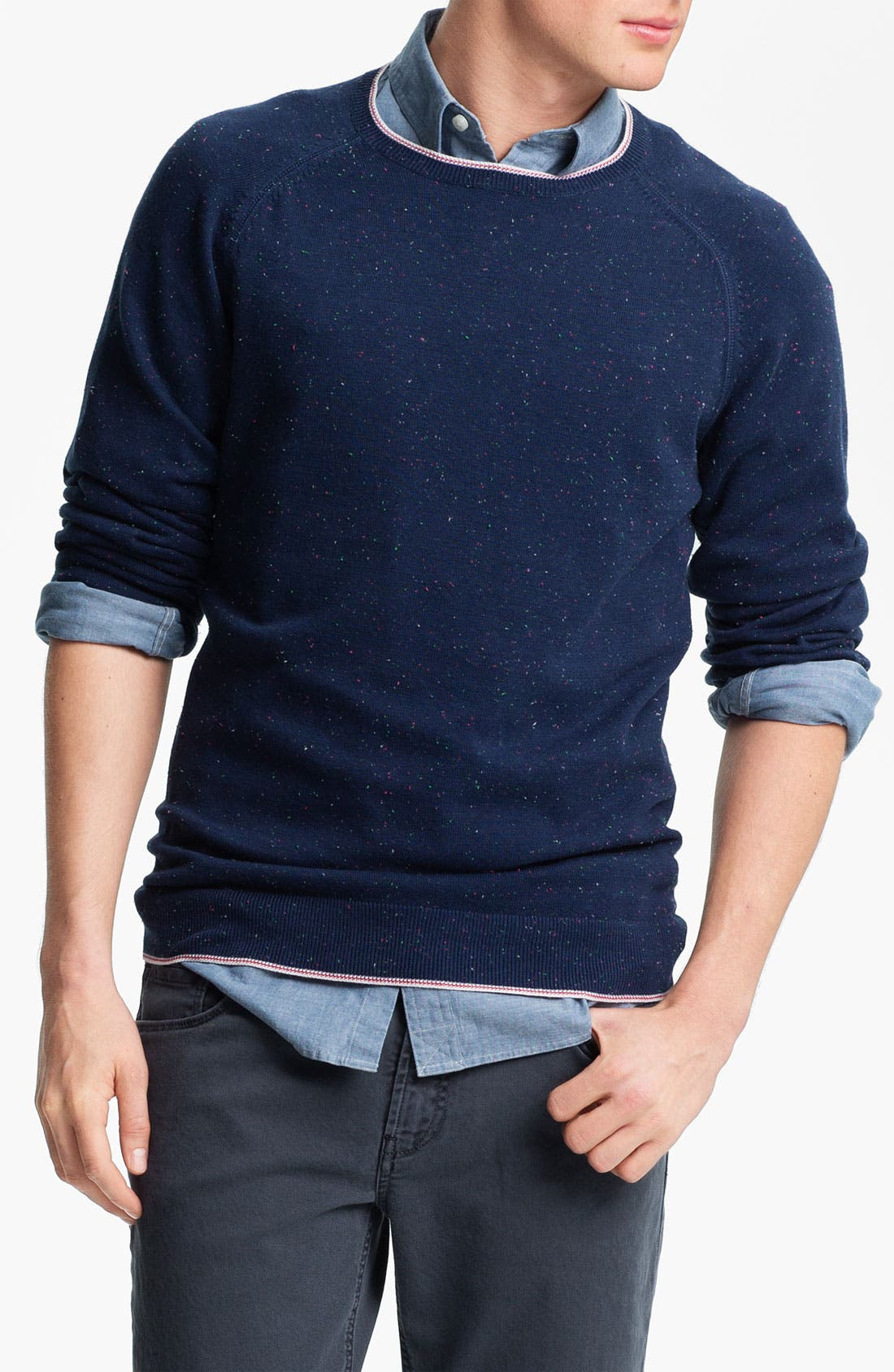Alternate Image 1 Selected - Agave 'Abeam' Crewneck Sweater
