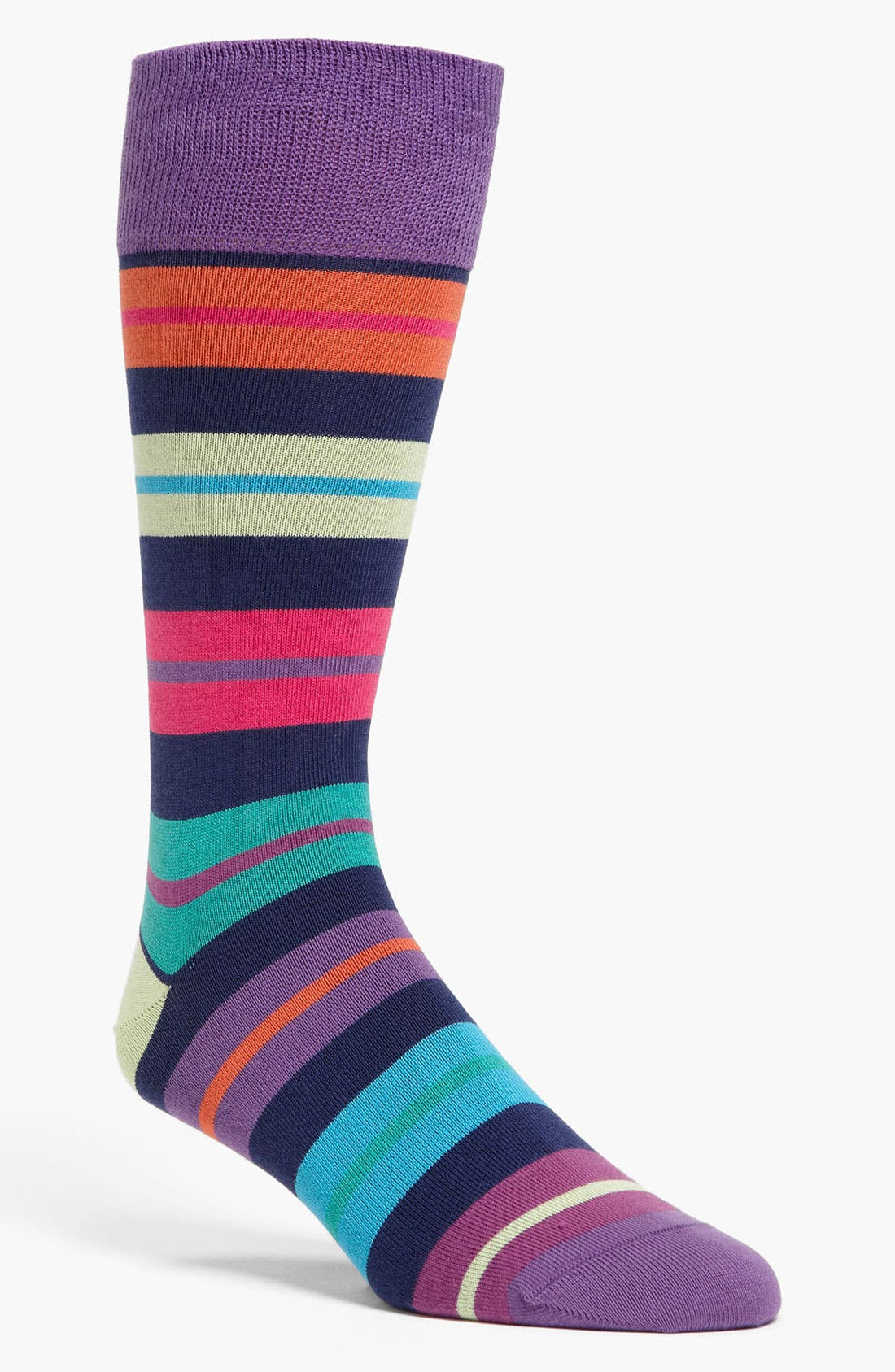 Alternate Image 1 Selected - Paul Smith Accessories Block Stripe Socks