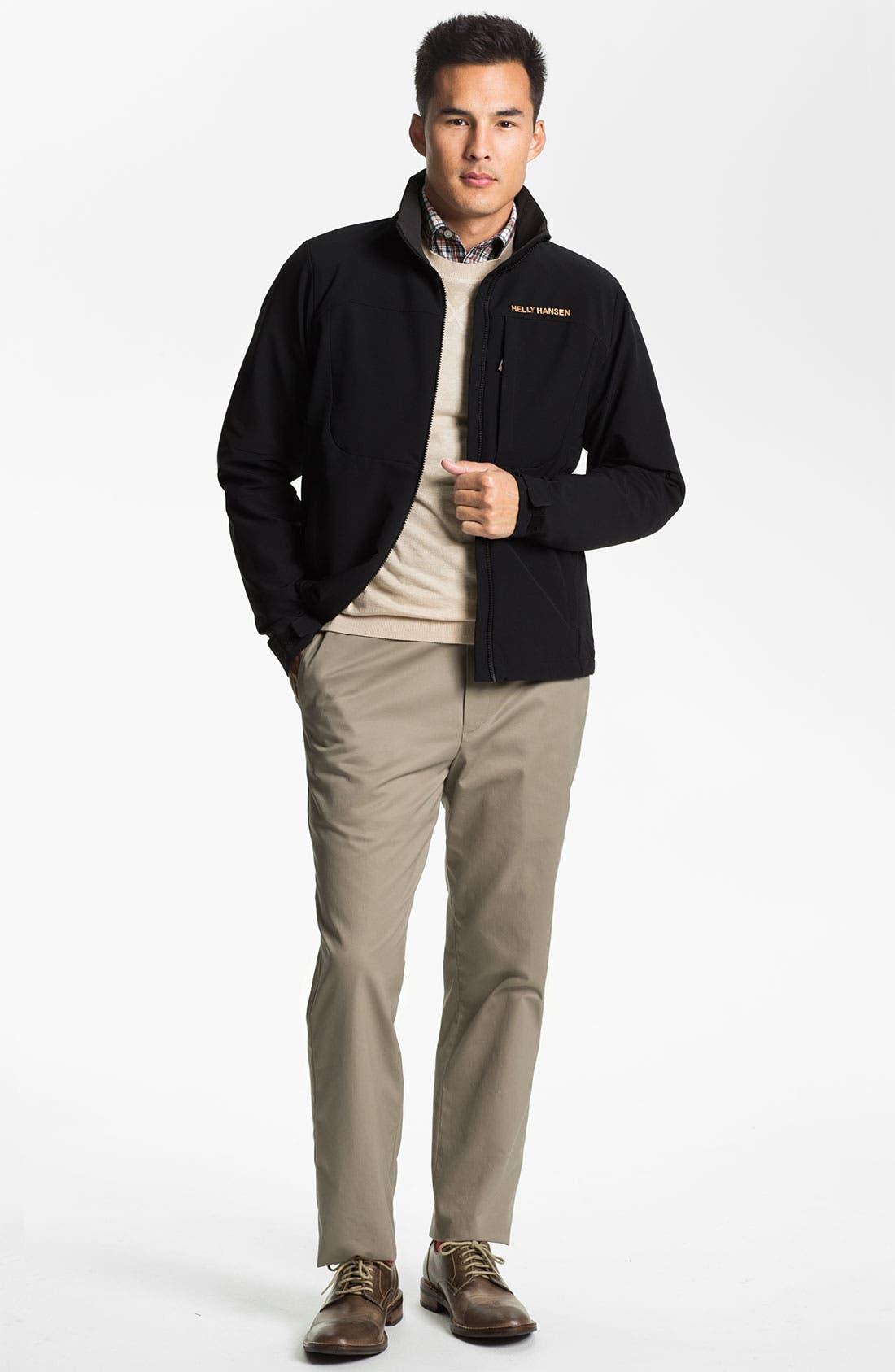 Alternate Image 4  - Wallin & Bros. Pima Cotton Blend Sweater