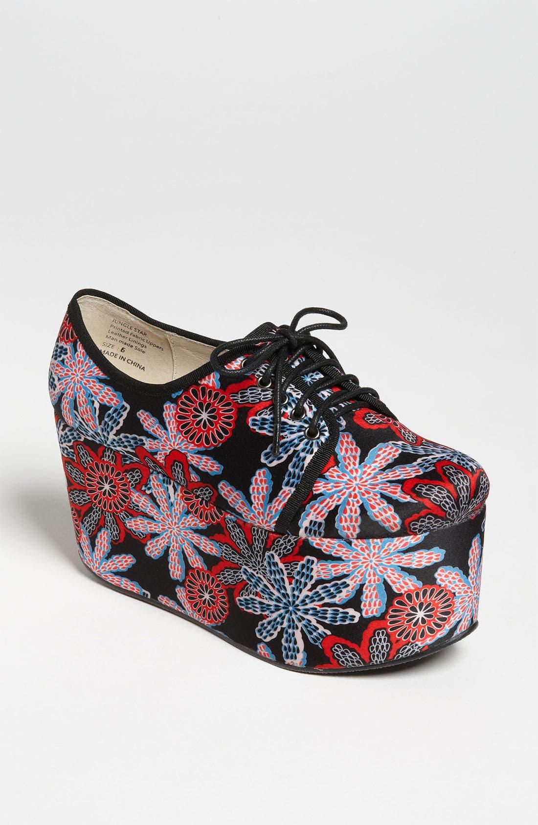 Alternate Image 1 Selected - EGO and GREED 'Jungle Star' Platform Shoe