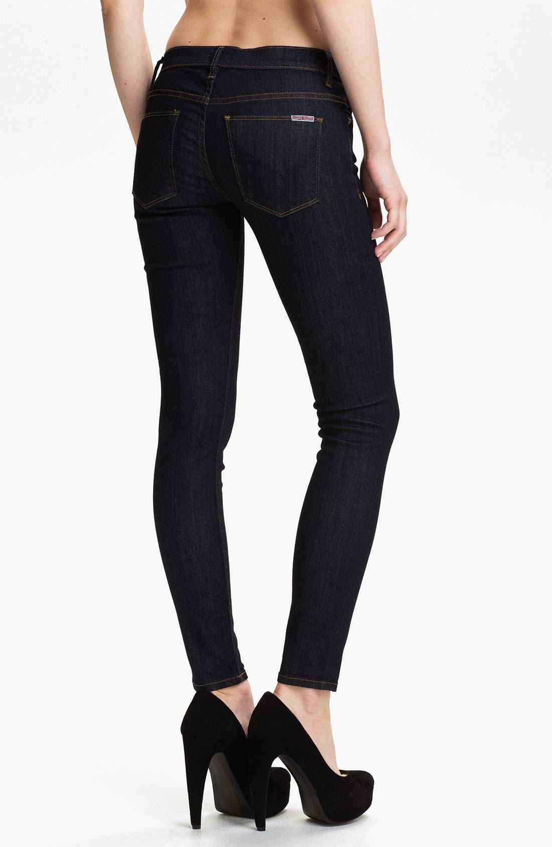 Alternate Image 2  - Hudson Jeans 'Krista' Super Skinny Jeans (Foley)
