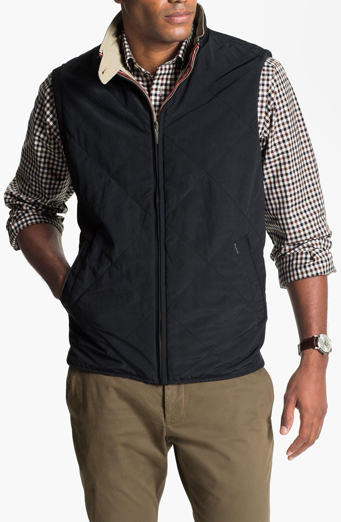 Alternate Image 4  - Façonnable Reversible Quilted Vest