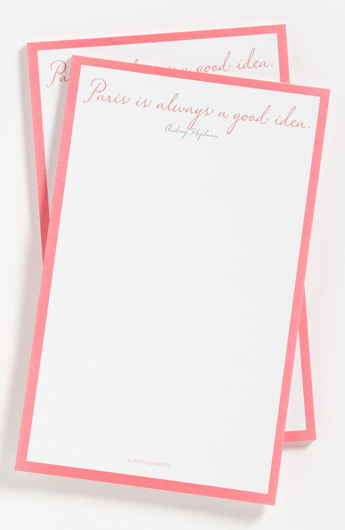Main Image - Ben's Garden 'Paris Is Always' Notepads (2-Pack)