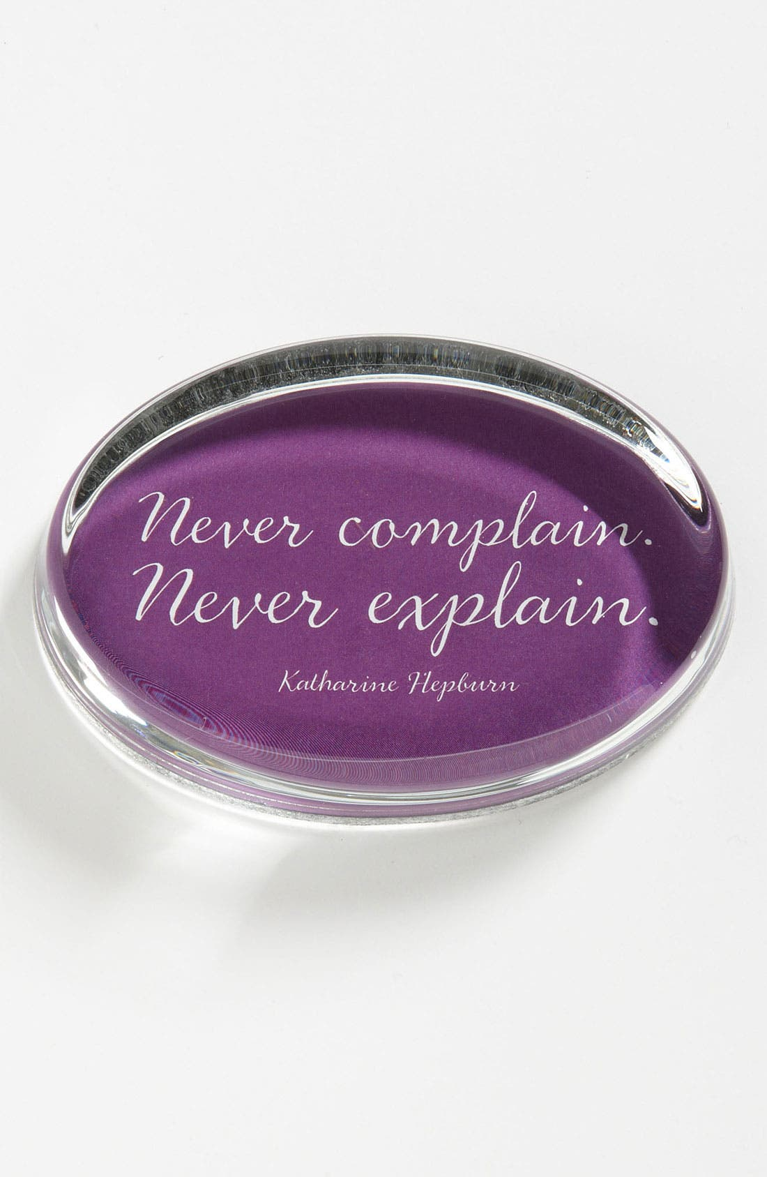 Alternate Image 1 Selected - Ben's Garden 'Never Complain' Paperweight