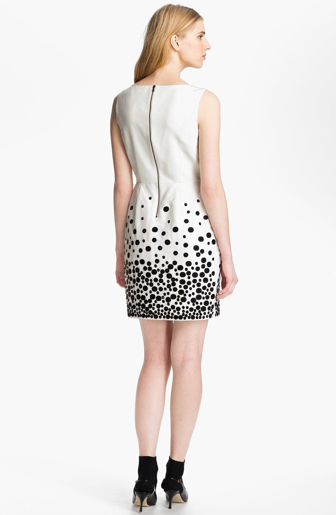 Alternate Image 2  - Miss Wu Embroidered Faille Dress (Nordstrom Exclusive)
