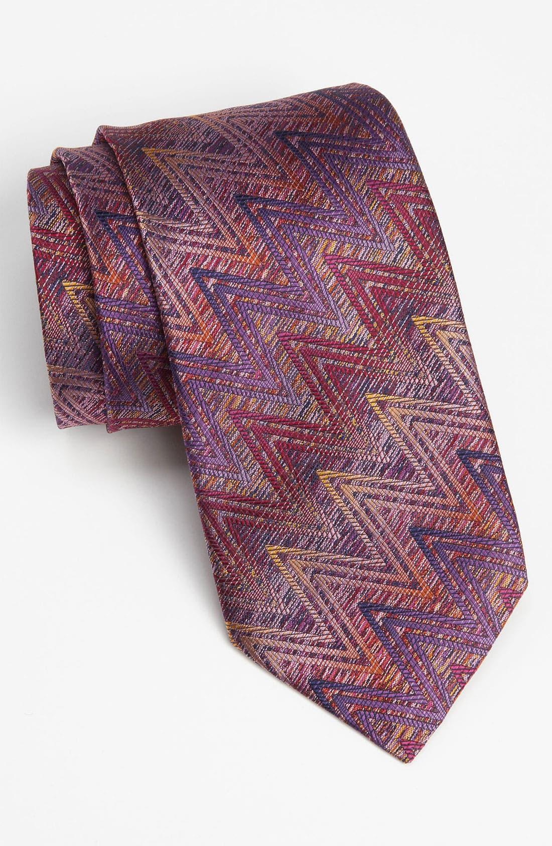 Main Image - Missoni Woven Silk Tie