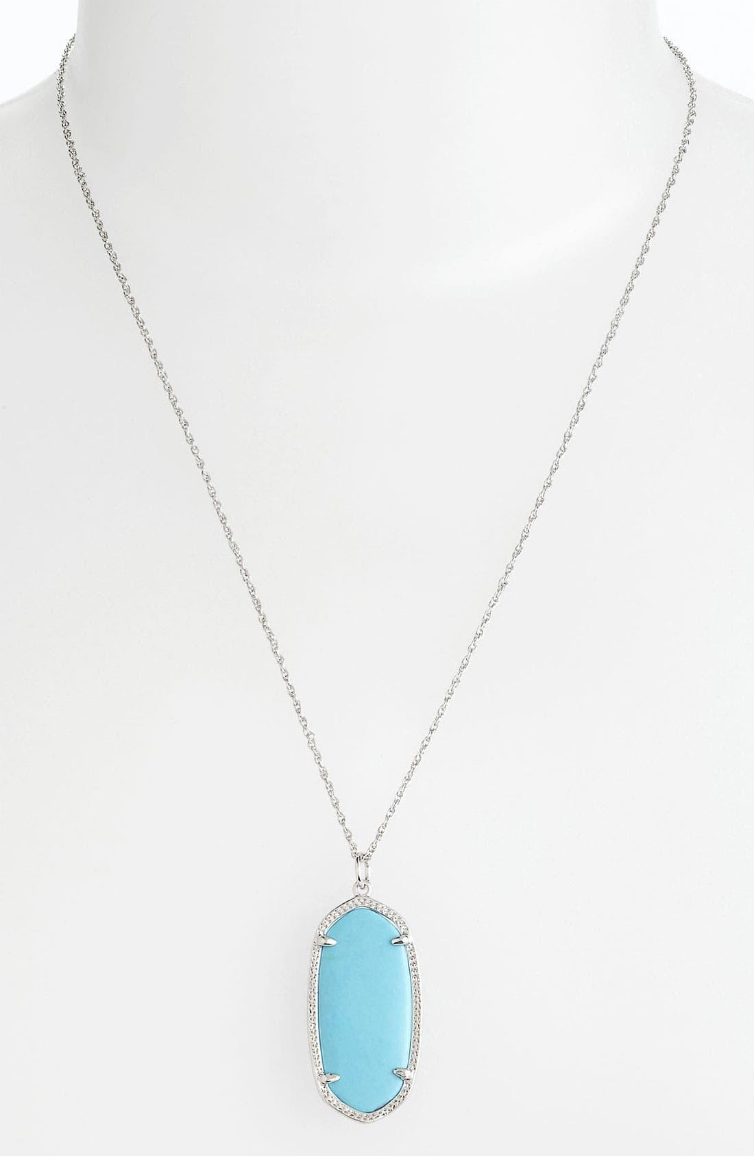 Main Image - Kendra Scott 'Elise' Pendant Necklace (Nordstrom Exclusive)