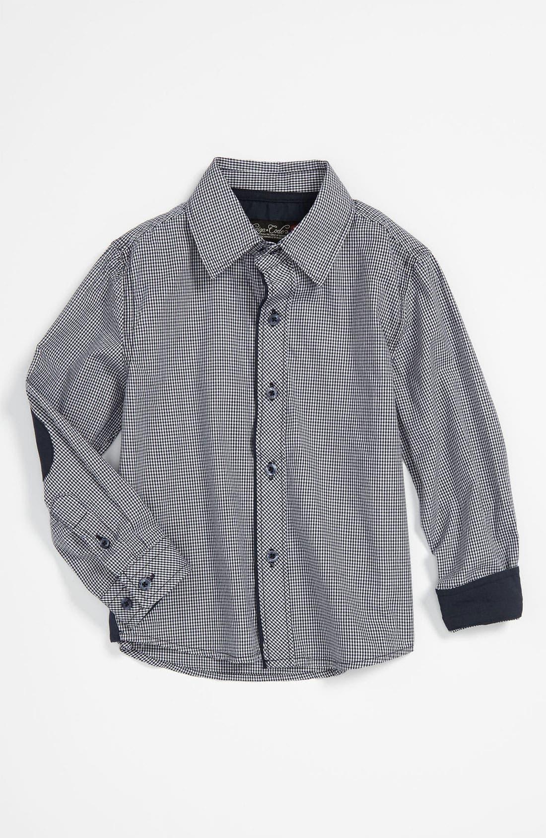 Alternate Image 1 Selected - Sovereign Code Gingham Shirt (Infant)