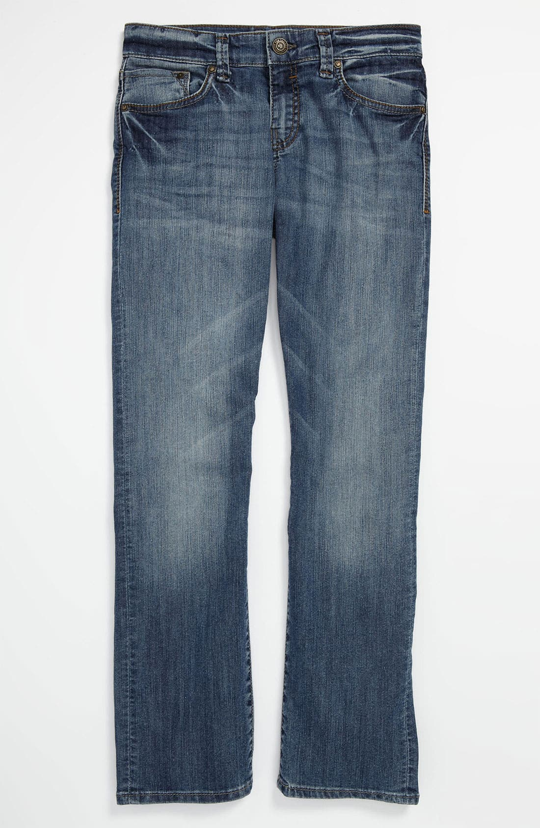 Alternate Image 2  - Mavi Jeans 'Timothy' Slim Straight Leg Jeans (Big Boys)