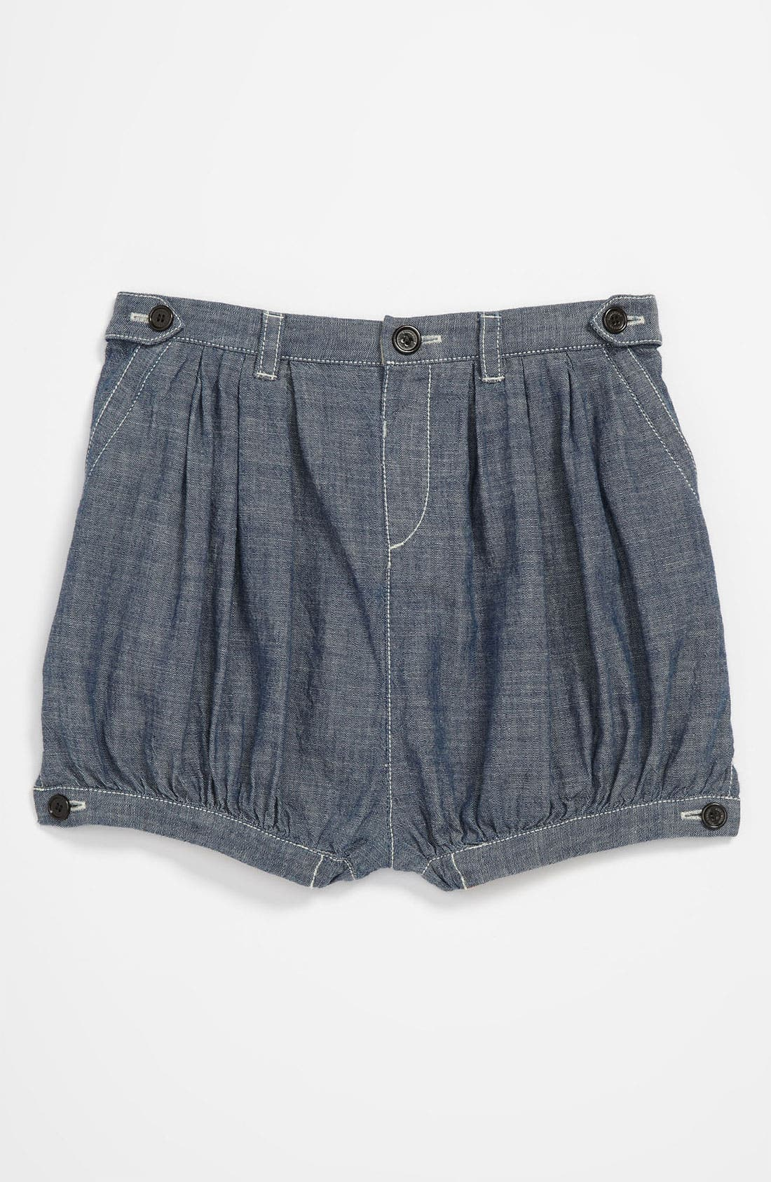 Main Image - Burberry 'Sally' Woven Shorts (Infant)