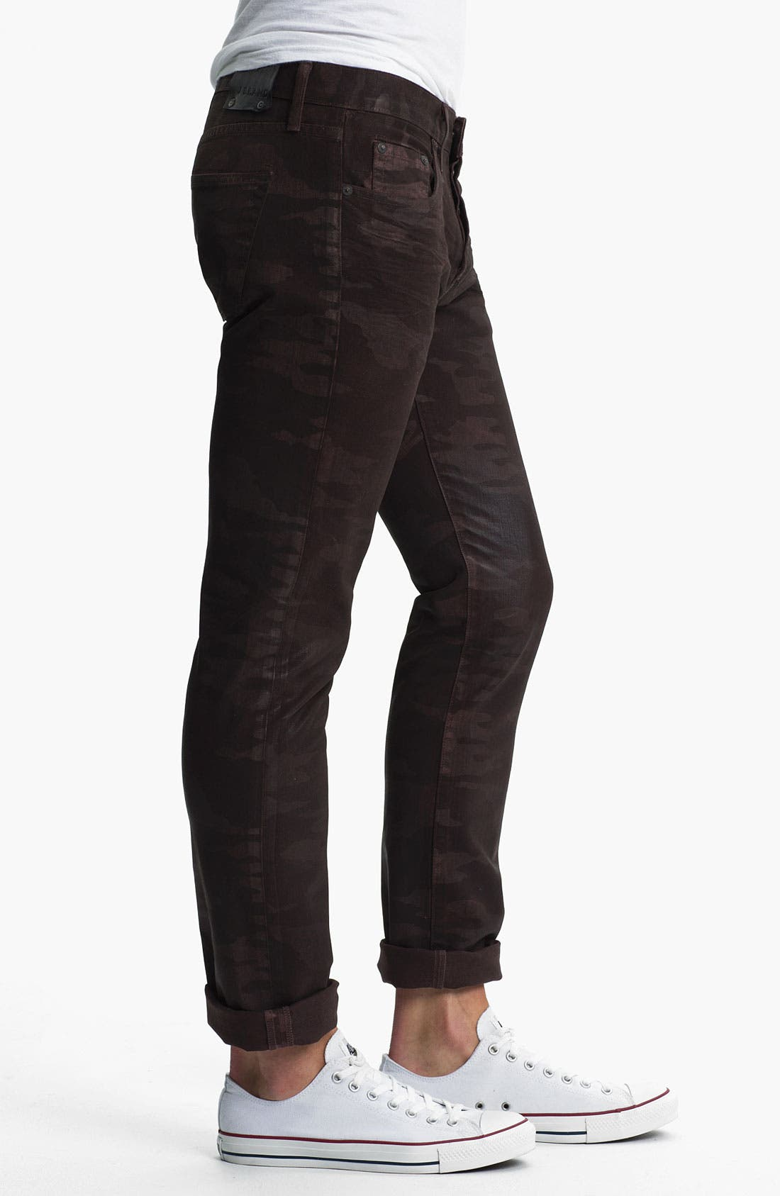 Alternate Image 3  - J Brand 'Tyler' Slim Straight Leg Jeans (Coated Wood Camo)