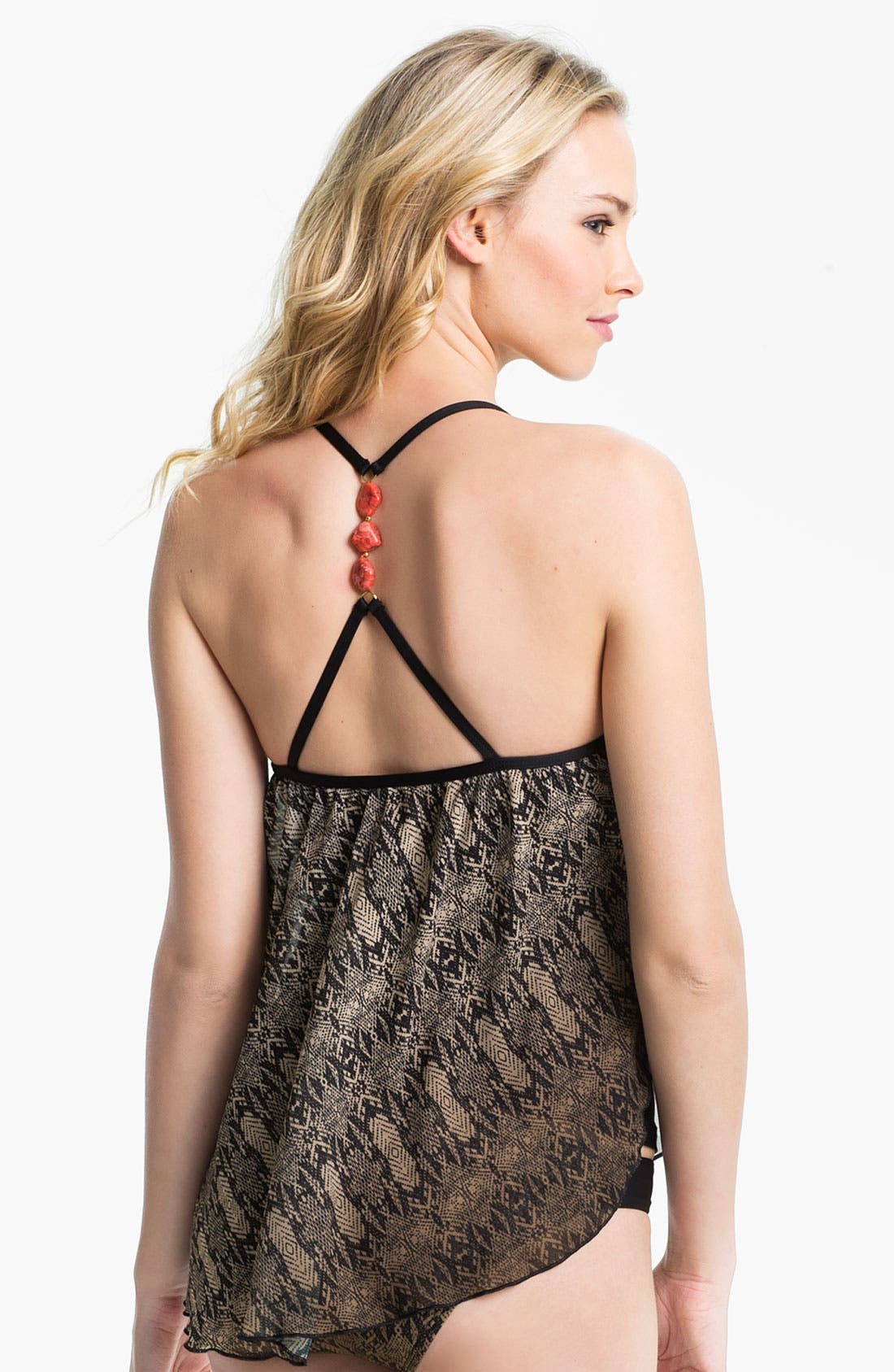 Alternate Image 2  - Luxe by Lisa Vogel 'The Baths' Sway Tankini Top