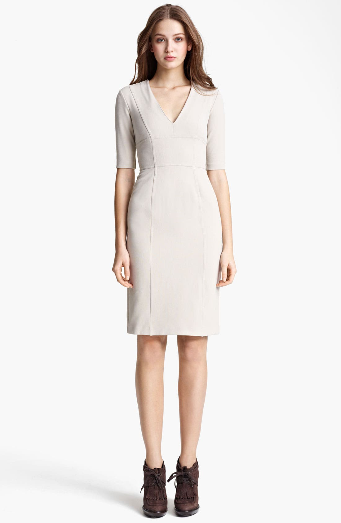 Alternate Image 1 Selected - Burberry London Crepe Dress