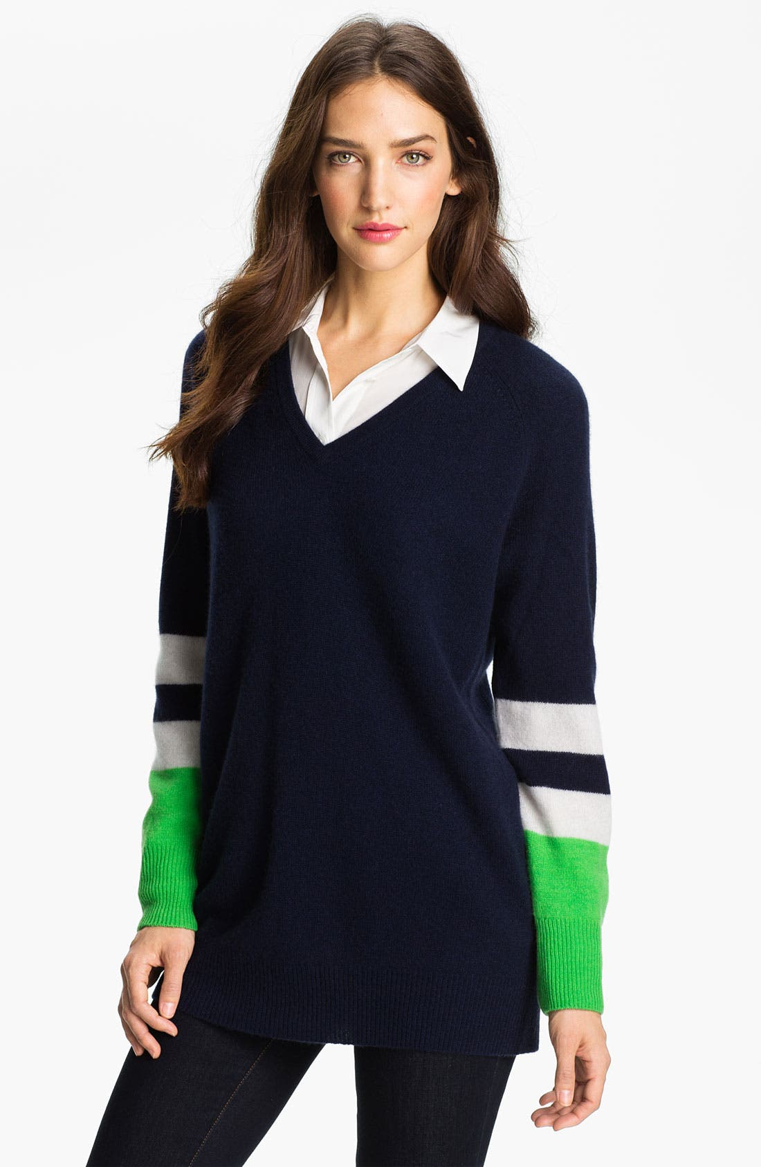 Main Image - Equipment 'Asher' Colorblock Sweater
