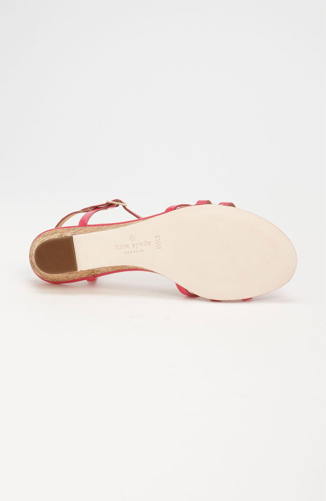 Alternate Image 4  - kate spade new york 'violet' sandal