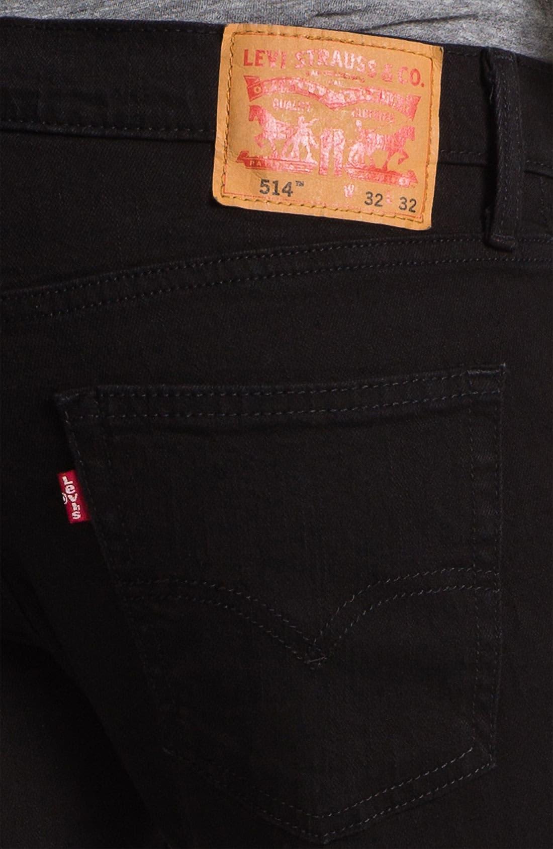 Alternate Image 4  - Levi's® '514™' Slim Straight Leg Jeans