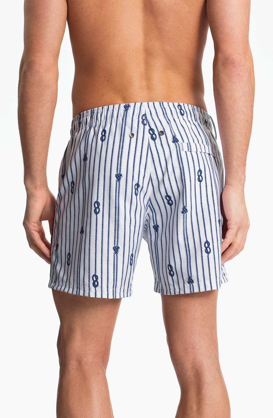 Alternate Image 2  - 2(x)ist 'Nautical - Hampton' Swim Trunks (Online Only)