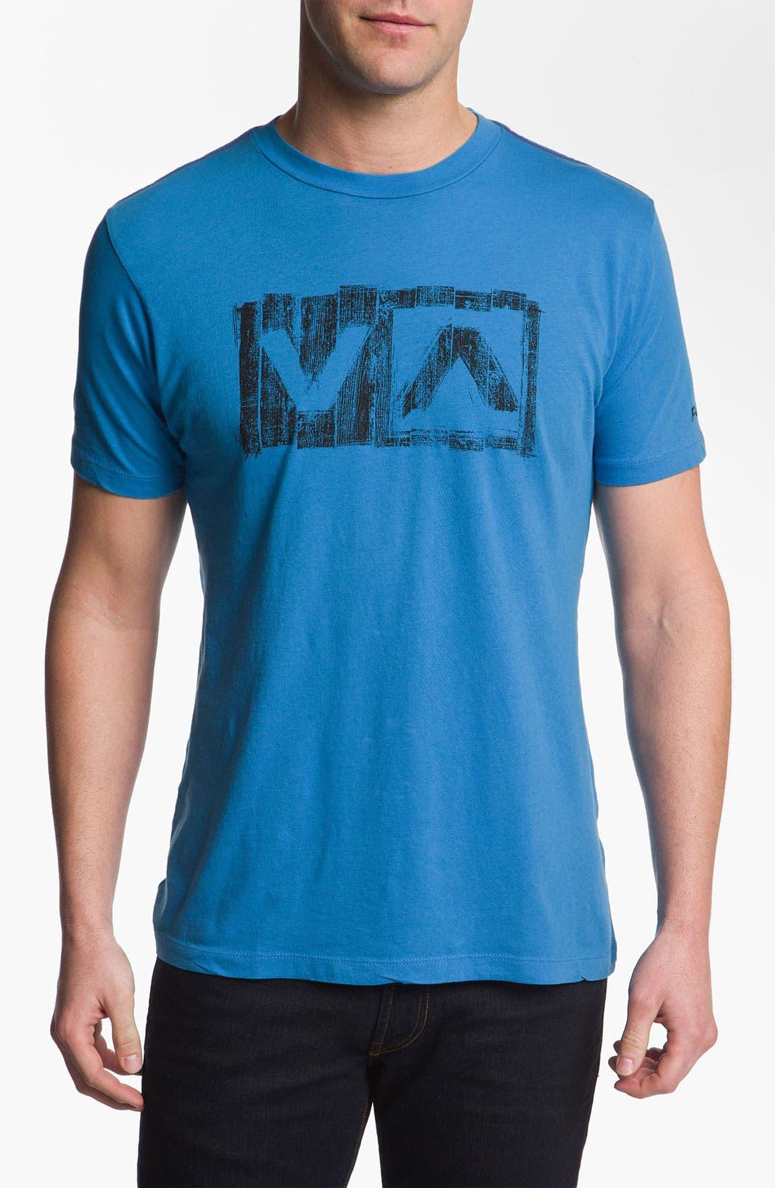 Alternate Image 1 Selected - RVCA 'Boardwalk' Vintage Wash T-Shirt