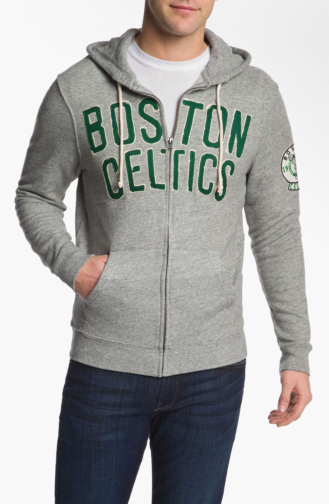 Alternate Image 1 Selected - Junk Food 'Boston Celtics' Hoodie