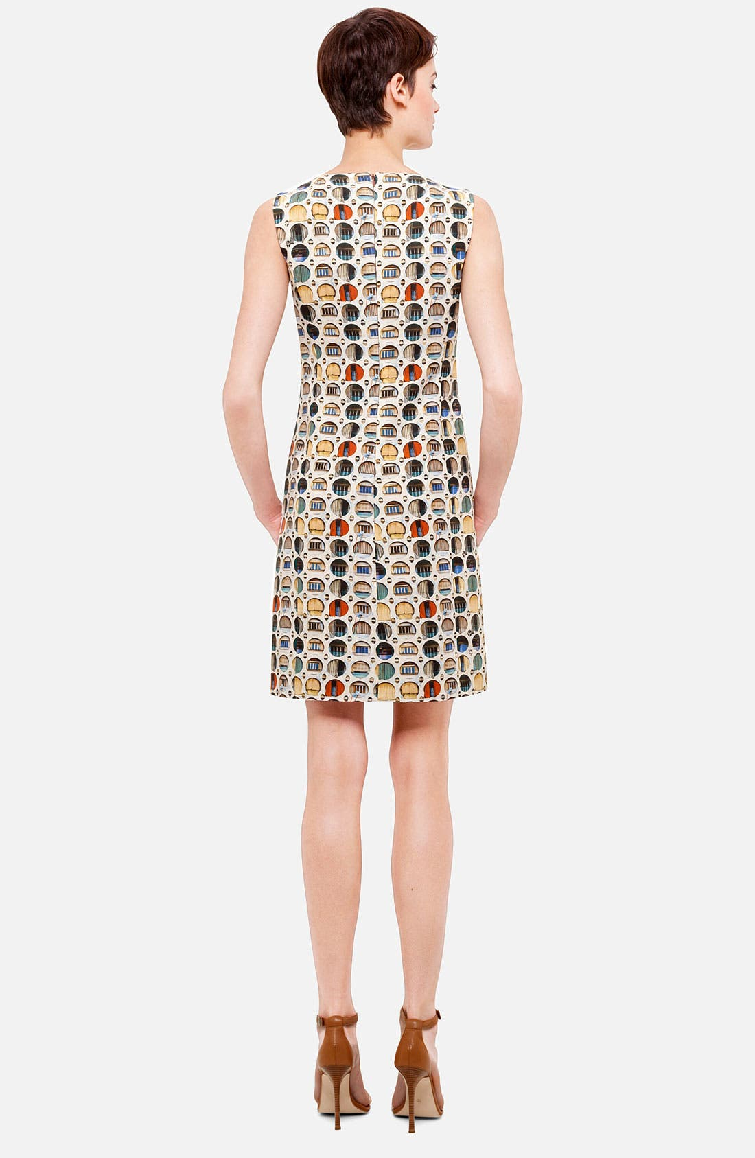 Alternate Image 2  - Akris punto Façade Print Dress