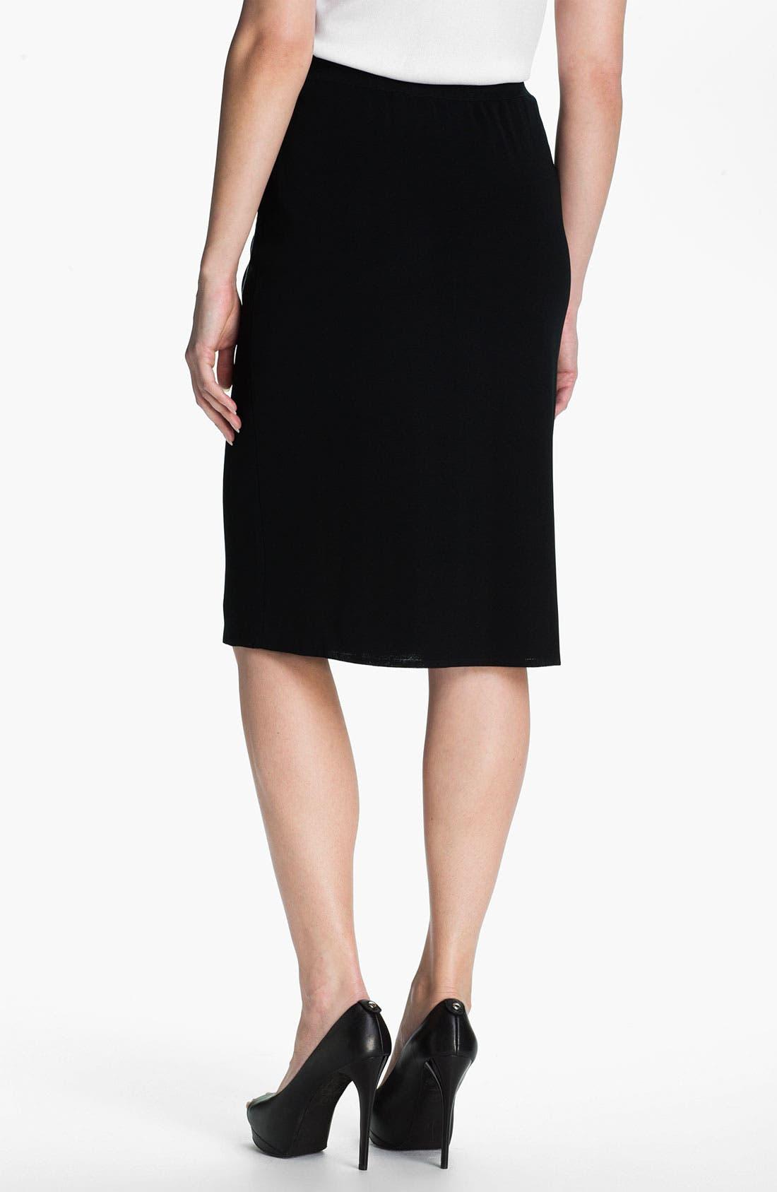 Alternate Image 2  - Ming Wang Straight Skirt