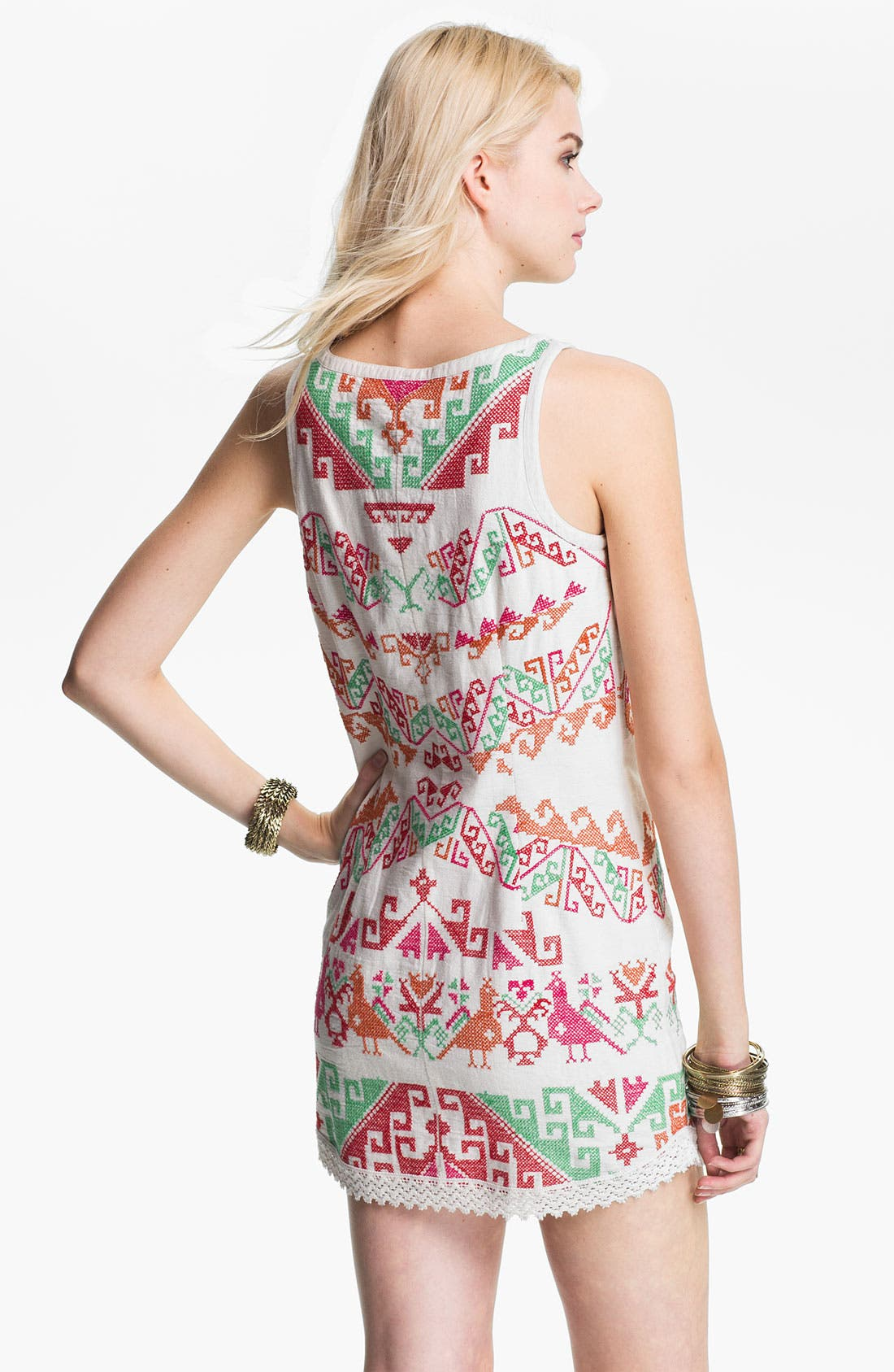 Alternate Image 2  - Free People Andean Embroidered Minidress