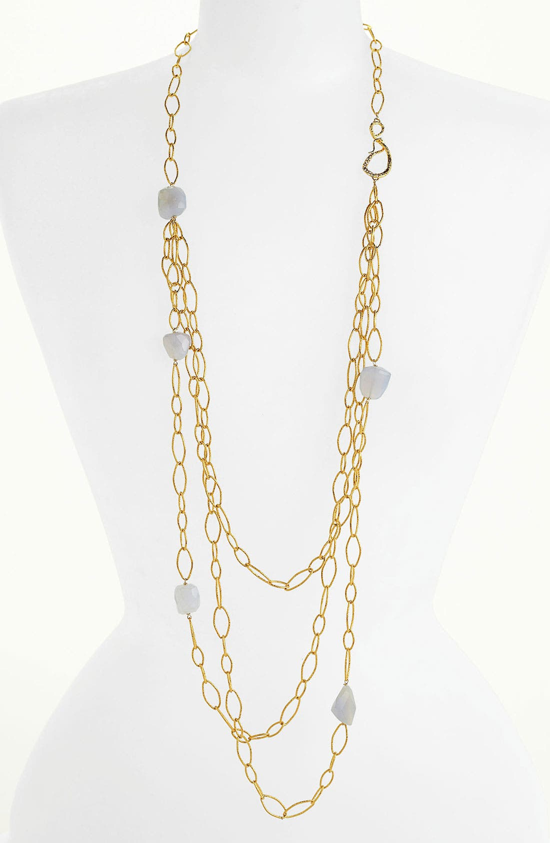 Alternate Image 1 Selected - Alexis Bittar 'Elements - Siyabona' Long Link Necklace