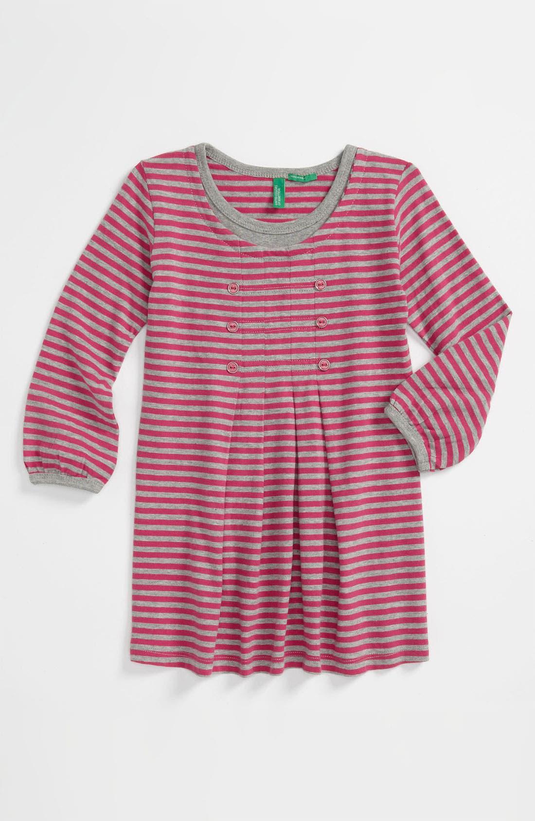 Alternate Image 1 Selected - United Colors of Benetton Kids Stripe Dress (Infant)