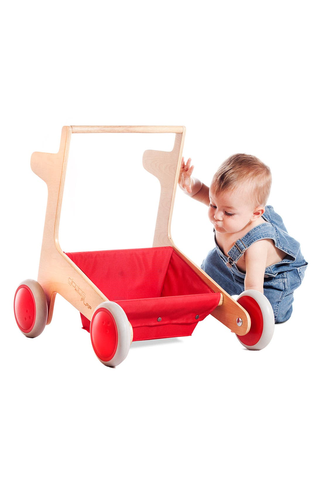 Alternate Image 5  - Kid O 'Flap' Cart Walker (Baby & Toddler)