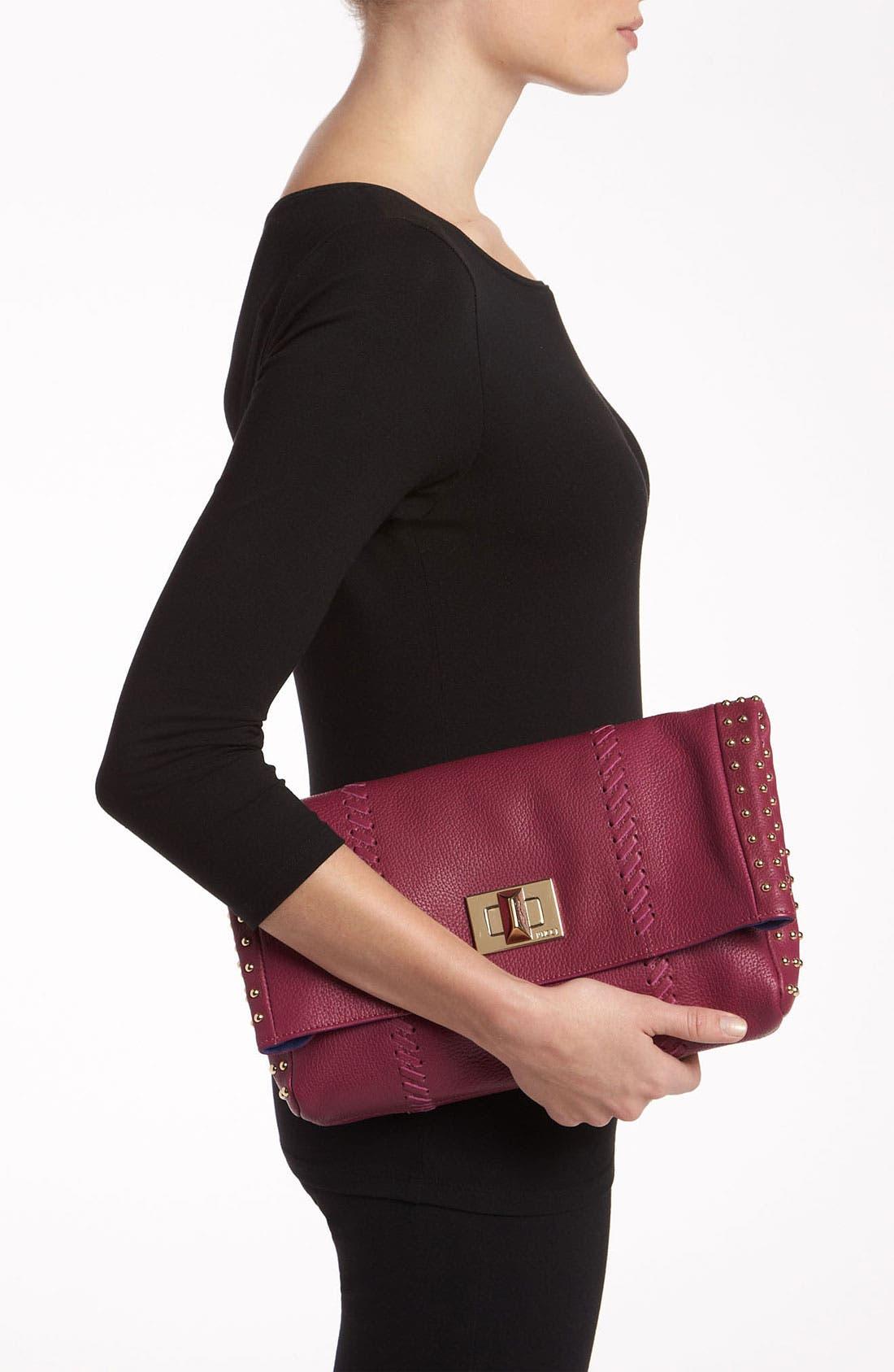 Alternate Image 2  - Emilio Pucci Leather Fold Over Clutch