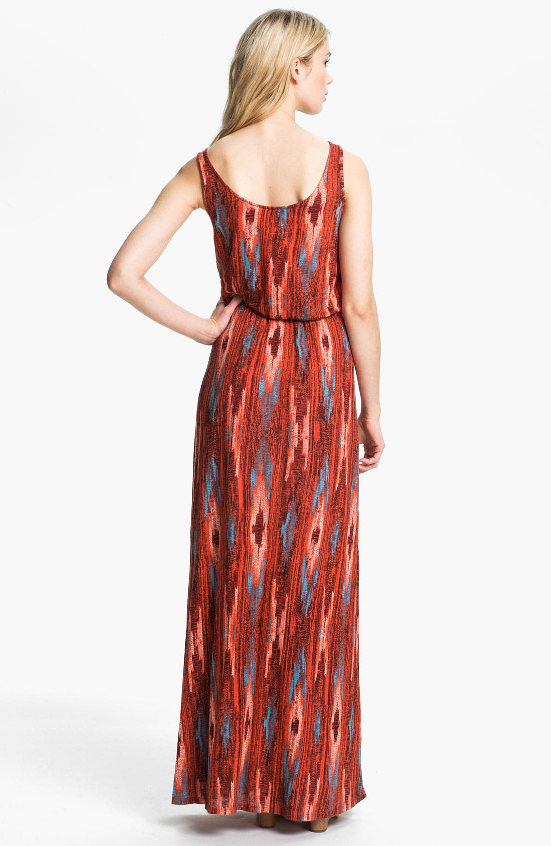 Alternate Image 2  - Ella Moss 'Santa Fe' Print Maxi Dress