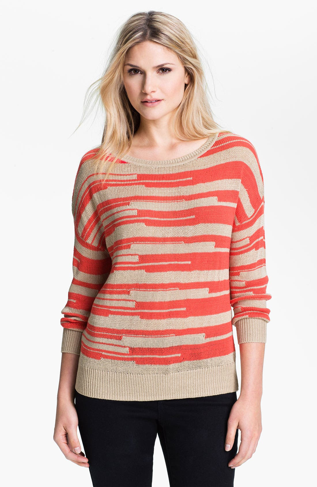 Alternate Image 1 Selected - Amber Sun 'Lily' Stripe Sweater