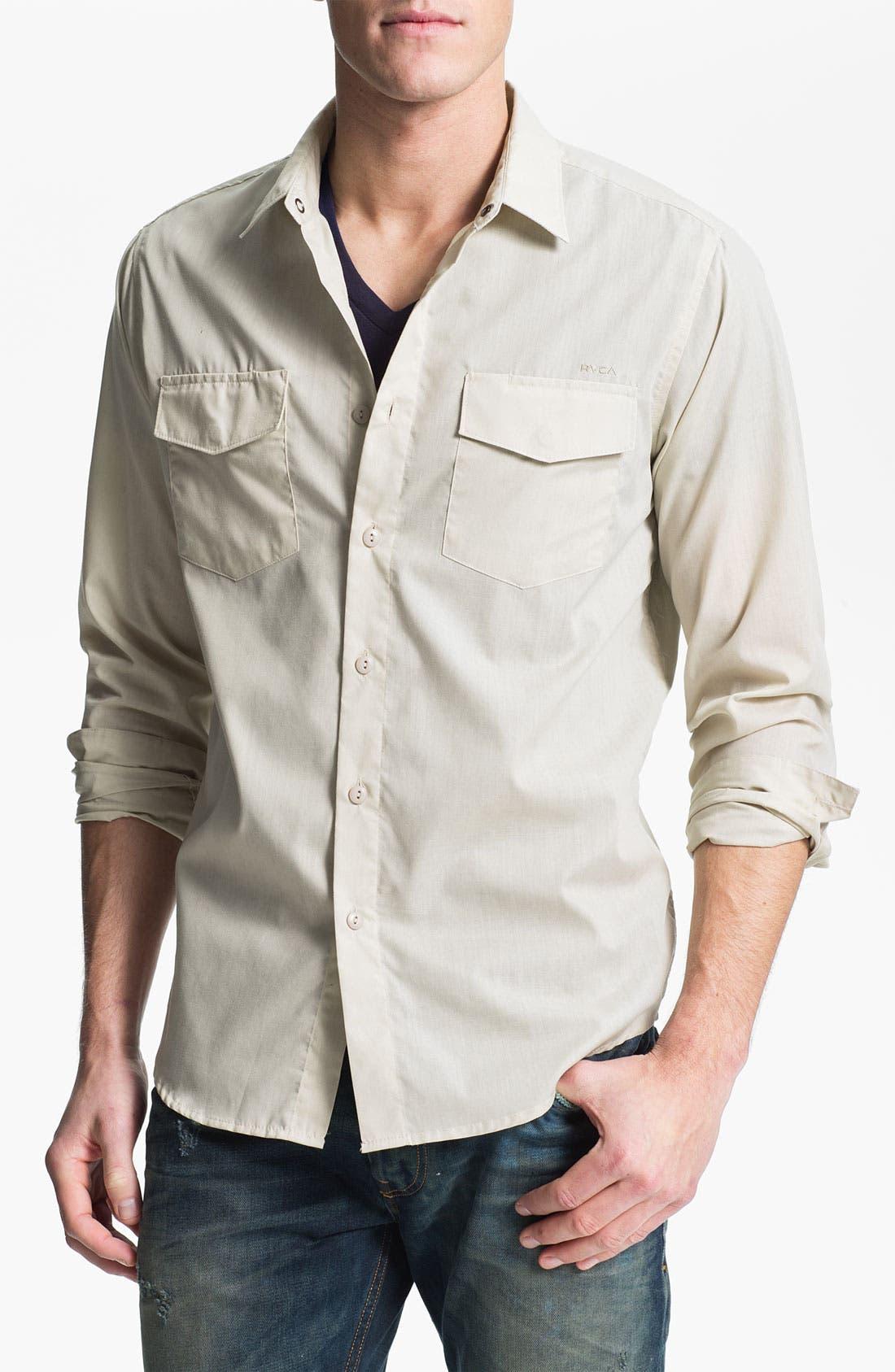 Alternate Image 1 Selected - RVCA 'Republic' Woven Shirt