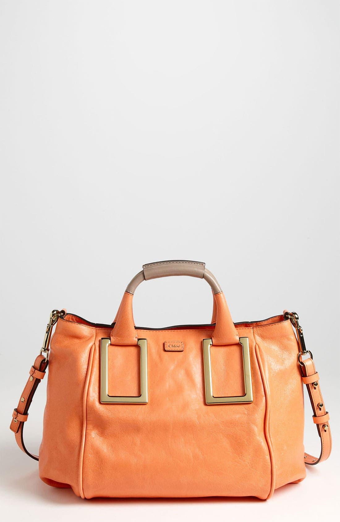 Main Image - Chloé 'Ethel - Medium' Leather Satchel