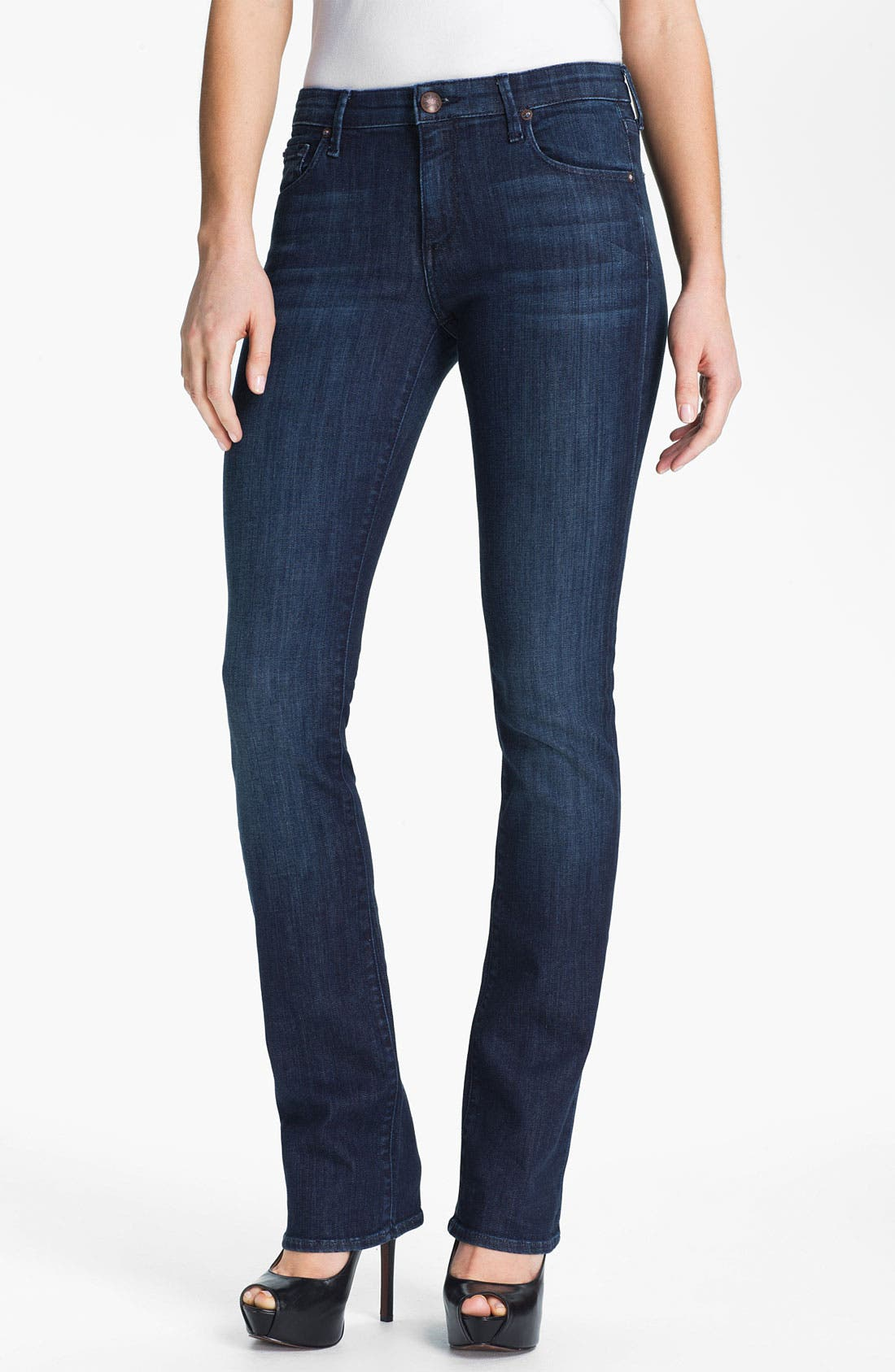 Alternate Image 1 Selected - Agave 'Linea' Slim Bootcut Jeans (Norte) (Online Exclusive)