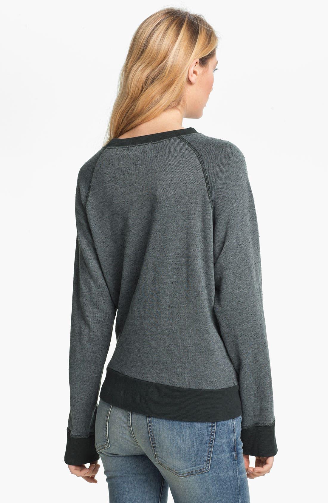 Alternate Image 2  - Wildfox 'Happiness Is Expensive' Graphic Sweatshirt