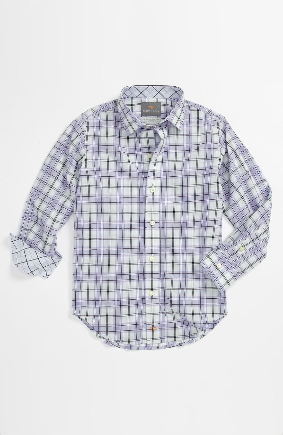 Main Image - Thomas Dean Dress Shirt (Little Boys)
